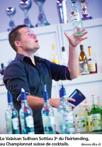 L'innovation perpétuelle  des cocktails suisses